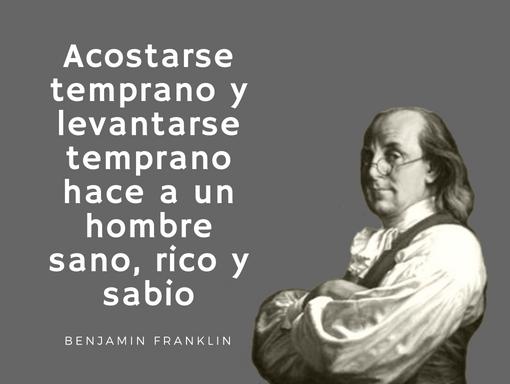 Frase Salud Franklin Toallitas